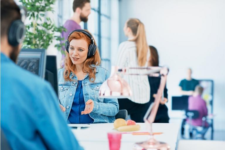 Sennheiser creëert een gezondere werkomgeving met draadloze headsets