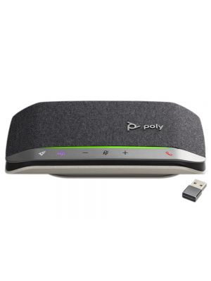Poly Sync 20+M speakerphone (USB-A incl. dongle)